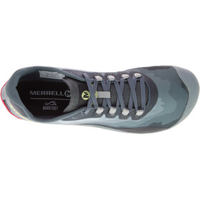 Merrell Vapor Glove 4 - Calzado Hombre - gris/Azul petróleo